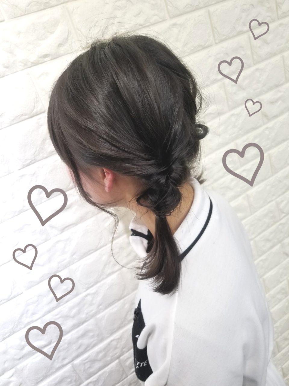 髪型 アレンジ 小学生